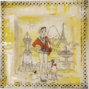 """Mini Kit """"La Parisienne au Dalmatien"""""""
