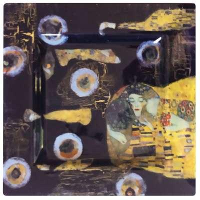kit créatif le baiser de klimt niveau 3 décoration sous verre gartavous