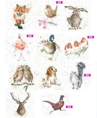 serviettes en papier animaux poetiques gartavous
