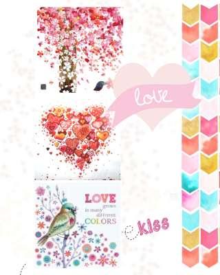 serviettes en papier peace and love gartavous