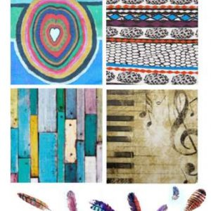 """Serviettes """"Textures"""" Colorées"""