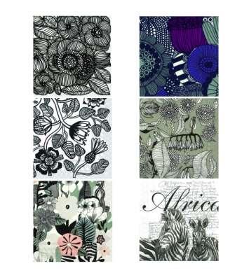 serviettes en papier à colorier texturées personnalisées gartavous