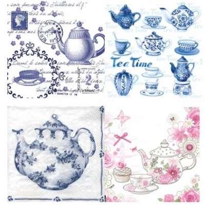 serviettes en papier thé gartavous