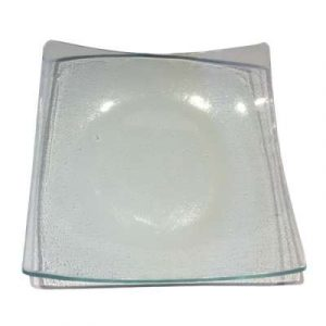 Assiette Carrée en verre -11,5 cm