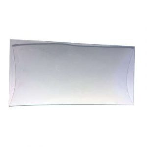 Plat en verre 17 x 33,5 cm