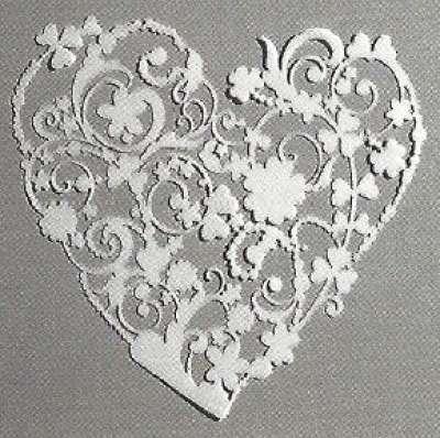 pochoir coeur et arabesque plastique gartavous