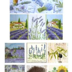 """Serviettes """"La Provence"""""""