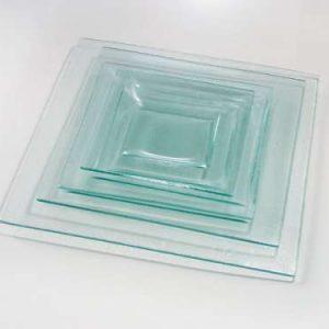 Assiette en verre 25 cm