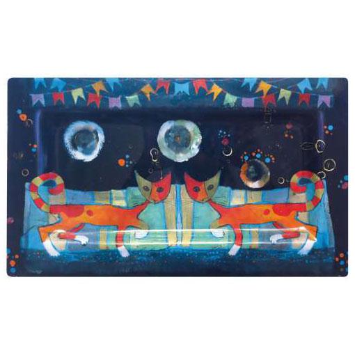 kit créatif les chat de rosina niveau 3 peinture sur verre gartavous