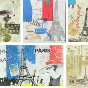 Serviettes Paris 3