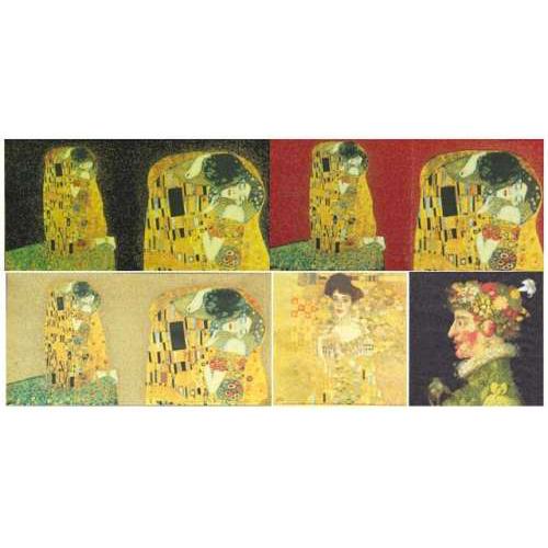 Serviettes-en-Papier-Klimt-et-Arcimboldo-1493