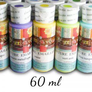 Peinture sur verre émaillée - 60 ml