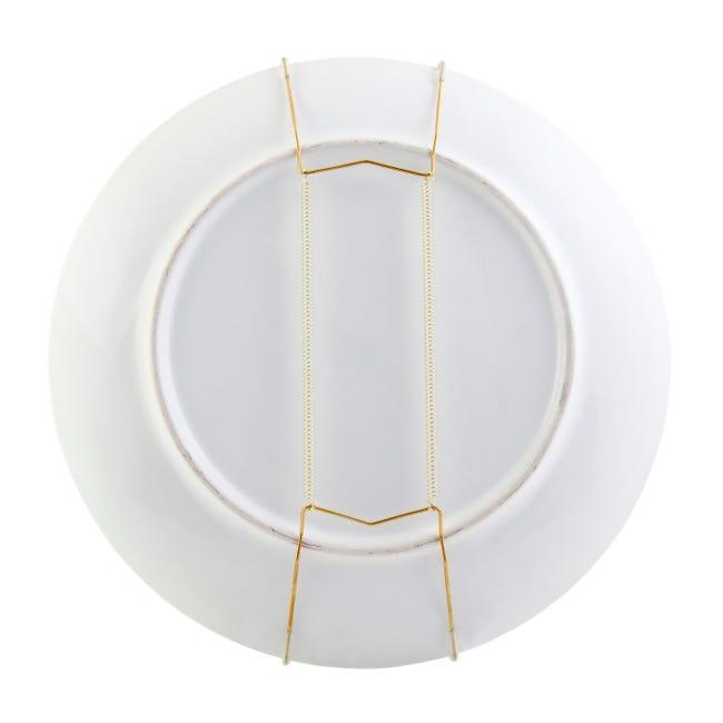 fixe-assiette permet d'accrocher aisément au mur vos assiettes