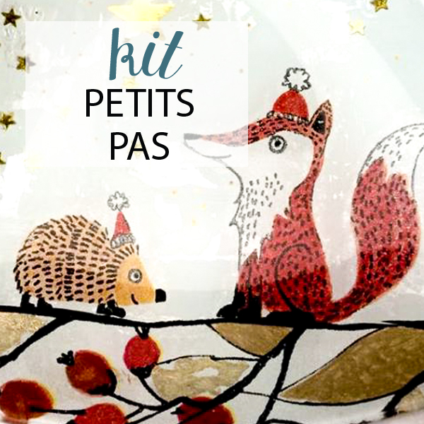 kit premier pas complet peinture sous verre avec motifs merry christmas et foxy gartavous