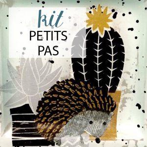 """Kit Petits Pas """"Hérisson et Cactus"""""""