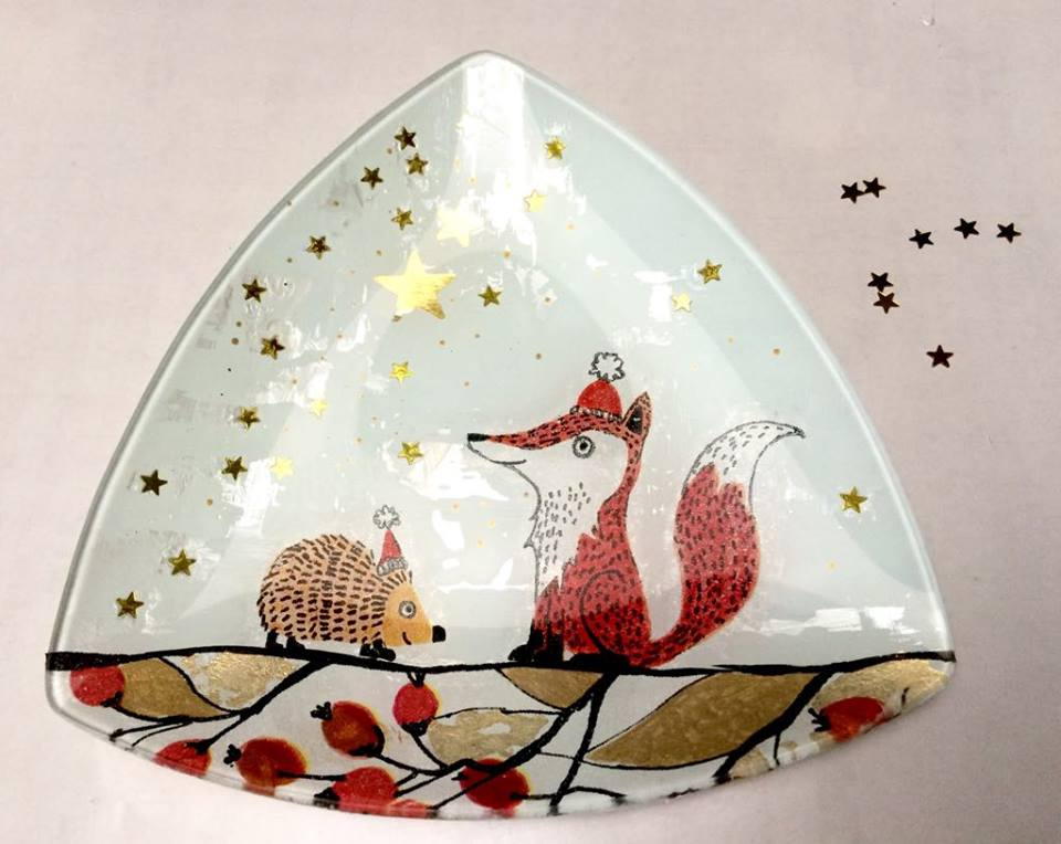 "Tuto ""kit Petits Pas"" – Merry Christmas Foxy"