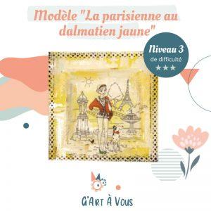 """Fiche Technique""""La Parisienne au Dalmatien"""" Niveau 2-3"""