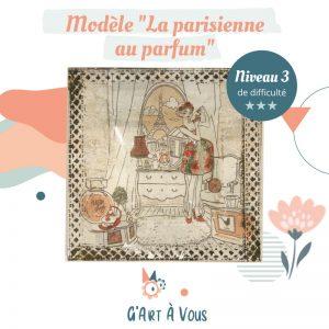 """Fiche Technique""""La Parisienne au Parfum"""" Niveau 2-3"""