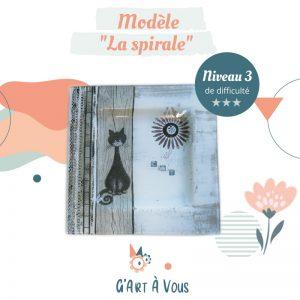 """Fiche Technique""""La Spirale"""" Niveau 3"""