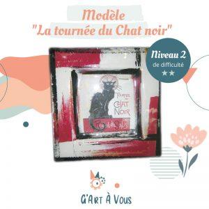 """Fiche Technique""""La Tournée du Chat Noir"""" Niveau 2"""