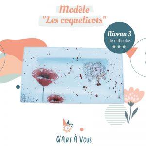 """Fiche Technique""""Les Coquelicots"""" Niveau 2-3"""