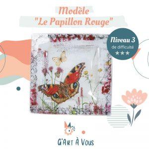 """Fiche Technique""""Le Papillon Rouge"""" Niveau 2-3"""