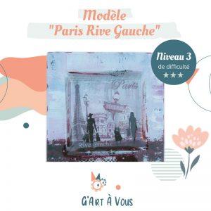 """Fiche Technique""""Paris Rive Gauche"""" - Niveau 2-3"""